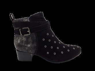 Imagem - Bota Feminina Ramarim Ankle Boot Comfort Preta - 263832