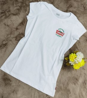 Imagem - Camiseta Juvenil Levi's Feminina M/C LK0010143 - 279951