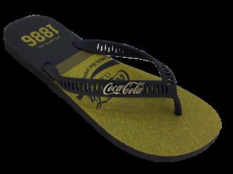 Imagem - Chinelo de Dedo Masculino Coca Cola Classic Wave CC3027 - 273248