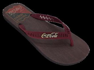 Imagem - Chinelo de Dedo Masculino Coca Cola Vintage Wood CC2744 - 273110