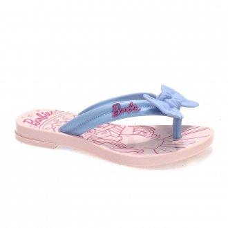 Imagem - Chinelo Infantil Barbie Charme Grendene Feminino 22631 - 279602