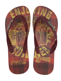 Imagem - Chinelo Masculino Coca Cola CC2681 The Summer - 263538