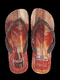 Imagem - Chinelo Masculino Coca Cola CC2639 Tropic Wood - 263532