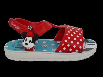 Imagem - Sandália Infantil Grendene Disney Mickey e Minnie Ref 22302 - 273341