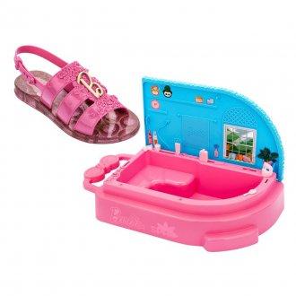 Imagem - Sandália Infantil Grendene Kids Barbie SPA Feminina 22485 - 280314