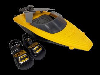Imagem - Sandália Infantil Grendene Menino Batman Boat - 266388