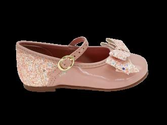 Imagem - Sapatilha Infantil Molekinha Menina com Laço e Glitter 2106.176 - 270357