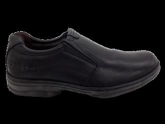 Imagem - Sapato Masculino Pegada em Couro Preto 24002-01 - 240536