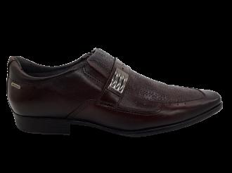Imagem - Sapato Masculino Pegada 22819 em Couro Café - 247186