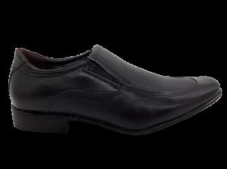 Imagem - Sapato Masculino Pegada em Couro Preto 124601 - 234840