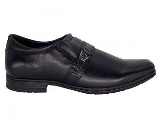 Imagem - Sapato Masculino Pegada de Couro com fivela 122315 Tecnologia Levitech - 273156