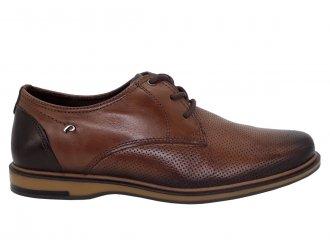 Imagem - Sapato Masculino Pegada Social em Couro 125101 - 275819