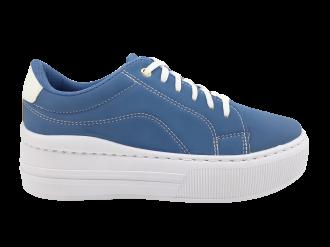 Imagem - Tênis Feminino Amábile Shoes Flatform de Cadarço SPT532A - 270188