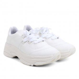 Imagem - Tênis Feminino Bebecê Chunky Dad Sneaker T1319-401 Monocromático - 273219