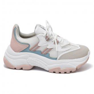 Imagem - Tênis Feminino Via Marte Chunky Dad Sneaker 20-10844 Casual - 273751