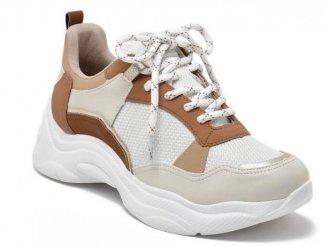 Imagem - Tênis Feminino Via Marte Chunky Dad Sneaker 2011502  - 275959
