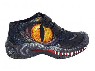 Imagem - Tênis Infantil Vissi Menino Dino World DSP126 Dinossauro - 274962