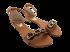 Sandália Feminina Beira Rio 8398.112 Rasteira Camel 2