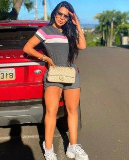 Imagem - Blusa com Listras cód: 16363.CINZAESCURO/ROSA/BRANCO