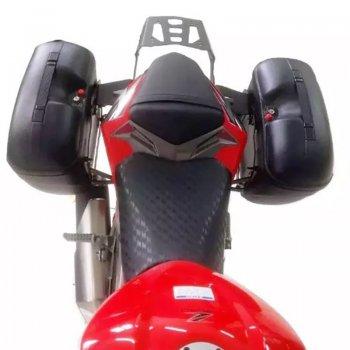 Bagageiro + Suporte Bau Lateral Givi Kawasaki Z300