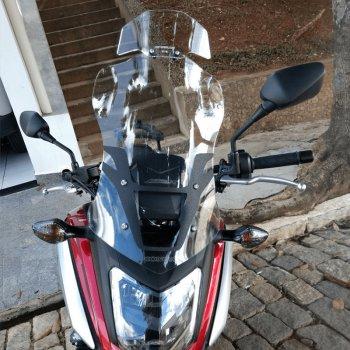 Bolha Alta Cristal Honda NC750X 2016-2019 com Defletor