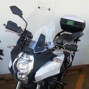 Bolha Alta Cristal Kawasaki Versys 1000 2013-2019 Defletor