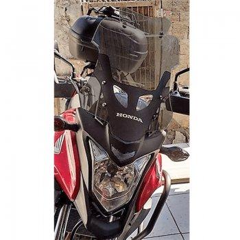 Bolha Alta Fumê Honda CB500X 2014-2019 com Defletor