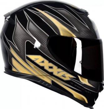 Imagem - Capacete Axxis Eagle Speed Gloss Preto Dourado Tam (L)