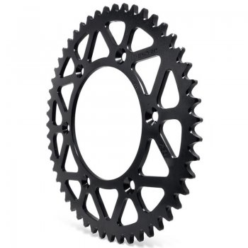Coroa Aço 1045 Crf 230 50 Dentes Biker Preto