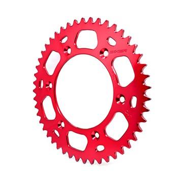 Imagem - Coroa Alumínio Crf 230/CR /CRF-X125/250/450/XR 200 - 48 Dentes