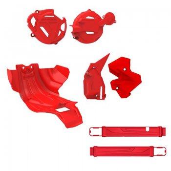 Imagem - Kit Protetores Crf 250 F Motor Quadro Tampas Balança Anker