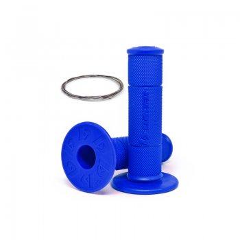 Manopla (par) Diamond Grip Biker Azul