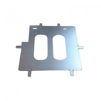 Reforço de Placas para Motos Chapa Galvanizado (kit 10 Un)