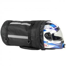 Alforge Traseiro Roll Bag Nylon Para Moto Big Trail 4