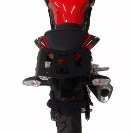 Bagageiro Fixo Aço Kawasaki Z 300 3