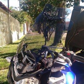Bolha Alta Fumê Yamaha Teneré 250 XT250Z 16/19 Com Defletor 3