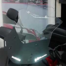 Bolha Suzuki Vstrom Dl650 Com Defletor Até 2013