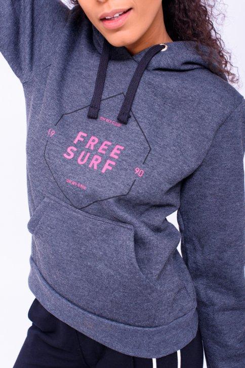 MOLETOM FEMININO FREESURF CANGURU
