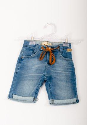 Imagem - Bermuda Bebê Jeans Oznes Masculina