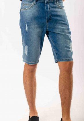 Imagem - Bermuda Masculina Jeans.Com