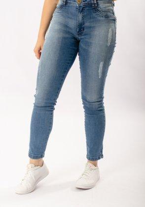 Imagem - Calça Feminina Alvo Da Moda Jeans
