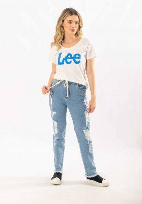 Imagem - Calça Feminina Geração Moderna Jeans Mom