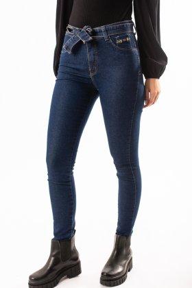 Imagem - Calça Feminina Max Denim Jeans Cinto