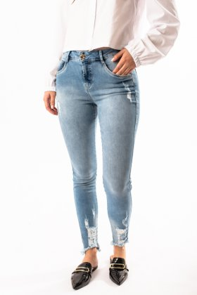 Imagem - Calça Feminina Pitt Jeans Cropped