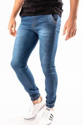Imagem - Calça Masculina Ecxo Jeans Jogger