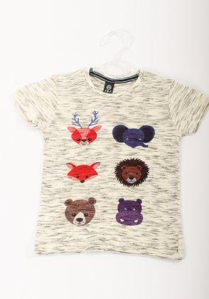 Imagem - Camiseta Bebe Masculina Sba Manga Curta