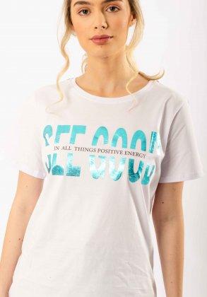 Imagem - Camiseta Feminina Parado No Ar Manga Curta