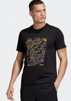 Imagem - CAMISETA MASCULINA ADIDAS LOGO COLLAGE GRAPHIC