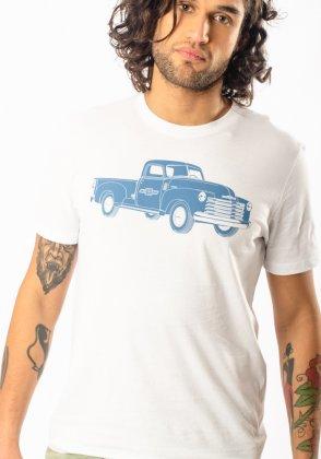 Imagem - Camiseta Masculina Cavalera Manga Curta Chevrolet