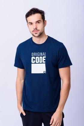 Imagem - Camiseta Masculina Code Manga Curta
